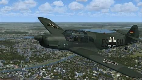 Review: Classics Hangar Bf108B | Pacific flight-sim news | Scoop.it
