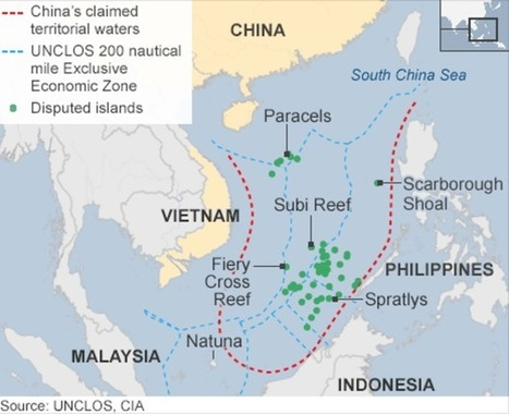 China 'building runway in disputed South China Sea island' - BBC News | APHuG Political | Scoop.it