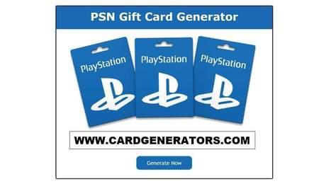 PSN Gift Card Generator | Scoop it