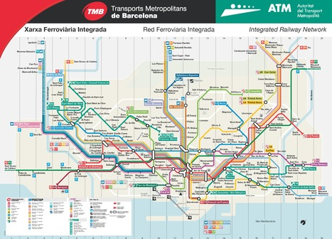 Plan du métro de Barcelone | Barcelona Life | Scoop.it