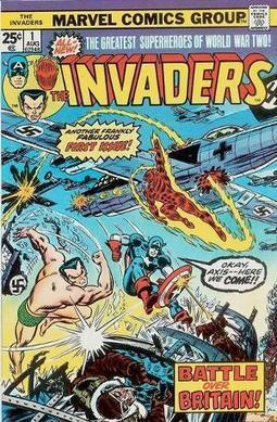 The Invaders - Talking Comics | Comic Book Trends | Scoop.it