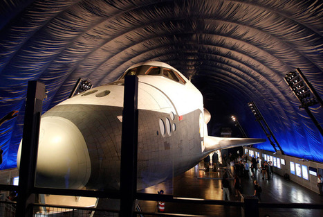 Space shuttle Enterprise set to open to public at the Sea, Air and Space Museum   Art You Need   Scoop.it