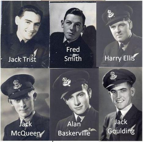 """O"" Oboe – 460 Squadron Crew | 460 Squadron - Bomber Command: 1942-45 | Scoop.it"