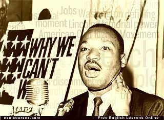 Martin Luther King Jnr. | English Listening Lessons | Scoop.it