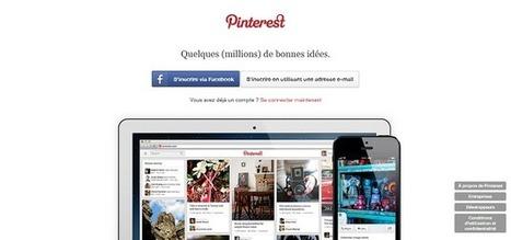 Réseau social : le règne des marques sur Pinterest l'Inspirant | Pinterest plateforme social média | Scoop.it