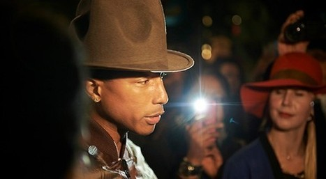 Pharrell Williams e i jeans in plastica ambientale | Moda Donna - sfilate.it | Scoop.it