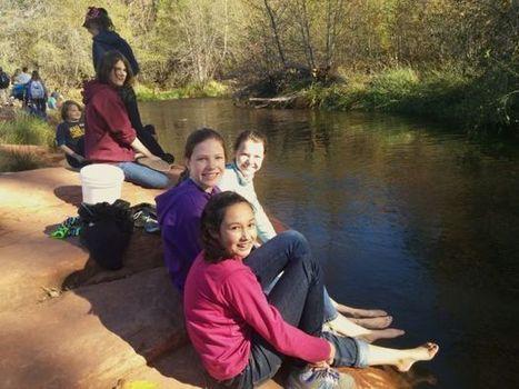 NPA students learn Oak Creek threats  -- litter-ally | Arizona Daily Sun | CALS in the News | Scoop.it