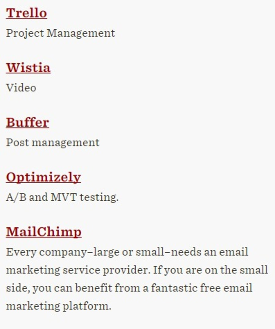 Buffer In The Martech Digest Mvt Communications Public Company Limited 5 Free Marketing Technology Tools For Smbs Radius