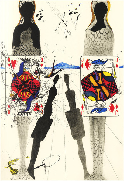 Salvador Dalí Illustrates Alice in Wonderland, 1969 | 21st_Century Good: Social and Content | Scoop.it