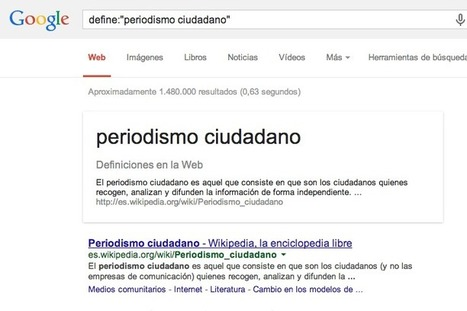 Recursos para periodistas: Operadores de búsqueda en Google | @pciudadano | Periodismo Ciudadano | Scoop.it