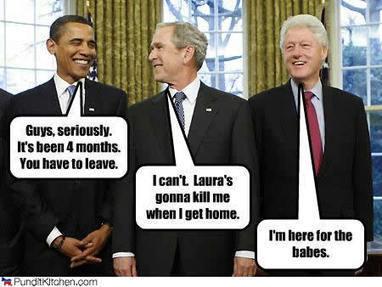 George Bush and Barack Obama Form A Boy Band | Humor | Scoop.it