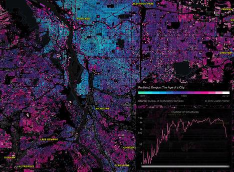 Brilliant Maps Reveal Age of the World's Buildings | Random Ephemera | Scoop.it