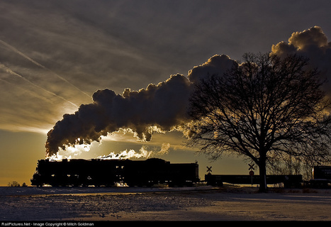 RailPictures.Net Photo: PM 1225 Pere Marquette Steam 2-8-4 at Owosso, Michigan by Mitch Goldman | All about nature | Scoop.it