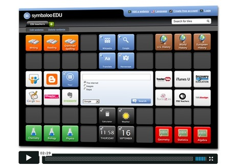 Symbaloo EDU | UDL & ICT in education | Scoop.it