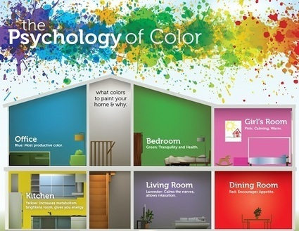 Infographic: The Psychology Of Color   NYL - News YOU Like   Scoop.it