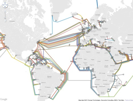 The Internet's infrastructure, visualized | visual data | Scoop.it
