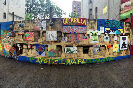 Harlem Art Collective Turns Vacant Wall Into Public 'Guerrilla Gallery' - DNAinfo | HarlemHCL | Scoop.it