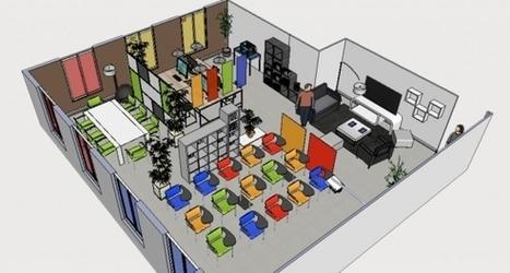 Un espace de coworking universitaire à Marne-la-Vallée - L'Etudiant Educpros | Fab Lab à l'université | Scoop.it