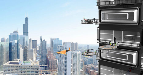 It's Time for Fancy Apartments to Offer Balconies for Drone Landings | STEAM | Scoop.it