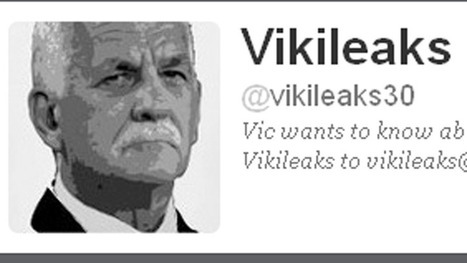 'Vikileaks' Twitter account closed | Social Media Maven | Scoop.it