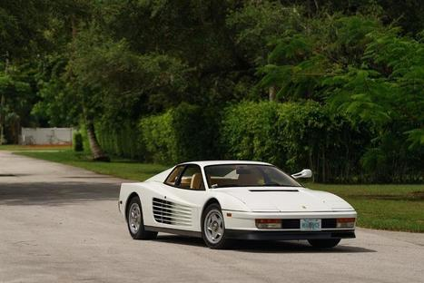 """Sonny Crockett's Ferrari Testarossa From """"Miami Vice"""" Goes to Auction 