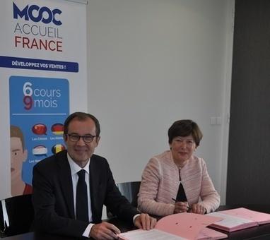 MOOC Accueil France : le FAFIH va prendre en charge la formation pour les entreprises -50 de l'hôtellerie restauration | Professionnalisation tourisme | Scoop.it