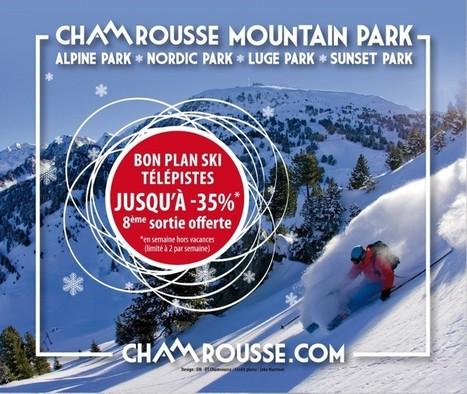 Télépistes : de 10 à 35% de réduction-Chamrousse | World tourism | Scoop.it