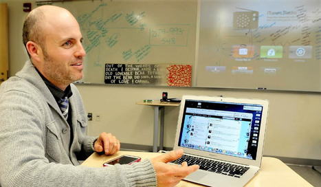 Maine teacher turning to Twitter for new ideas  | The Portland Press Herald / Maine Sunday Telegram | Self-Directed PLNs and Professional Development in Education | Scoop.it