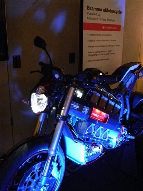 Battery management technology invigorates the Brammo e-motorcycle - Behind the Wheel - Blogs - TI E2E Community | Brammo Electric Motorcycles | Scoop.it