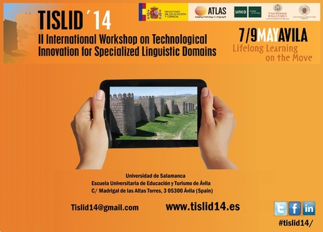 TISLID 2014: technological innovation for specialised linguistic domains | TELT | Scoop.it