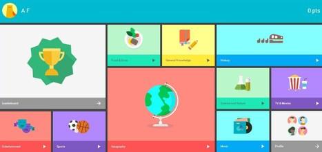 Quiz App | [graphic + web design] - typography, ergonomy & visual identity | Scoop.it