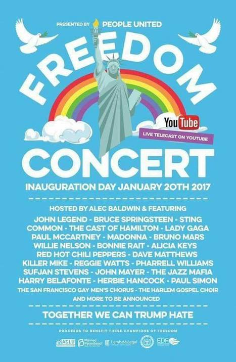 Freedom Concert avec Bruce Springsteen : une affiche qui trompe/Trump énormément ! - le blog Bruce Springsteen | Bruce Springsteen | Scoop.it