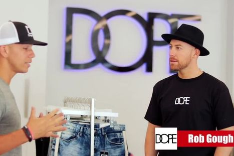 How to Create a Million-Dollar Brand - DOPE Founder Rob Gough Interview  Video abc55988ef87