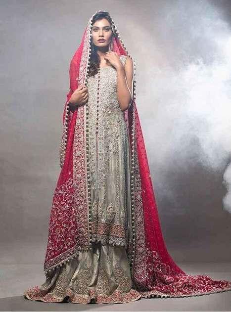a42d38c66b1da5 Bridal Wedding Lehenga Dress Designs 2017 For Barat Day   FashionEven