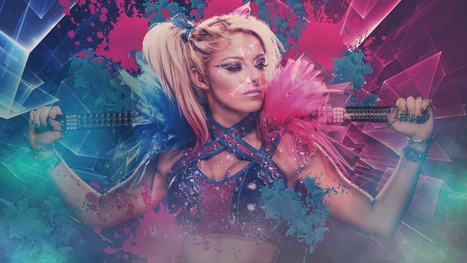 Alexa Bliss Wallpaper In Wallpapers Scoopit