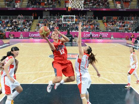 Diana Taurasi habla sobre sus compañeras de Phoenix Mercury   Basket-2   Scoop.it