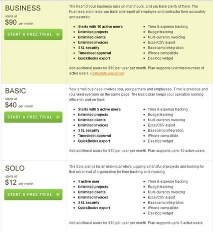 40 Attractive Pricing Tables That Guarantee a Purchase | inspirationfeed.com | HotelOnlineMarketing | Scoop.it
