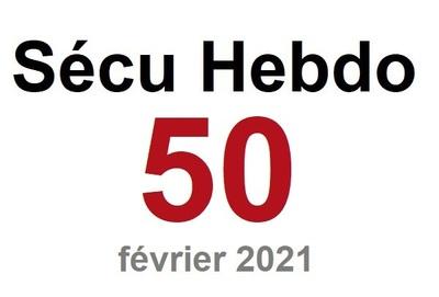 Sécu Hebdo 50 du 13 février 2021