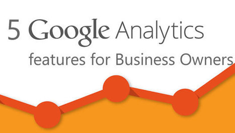 5 Google Analytics features for Business Owners - Search Engine Journal | Social Media Spoon | Scoop.it