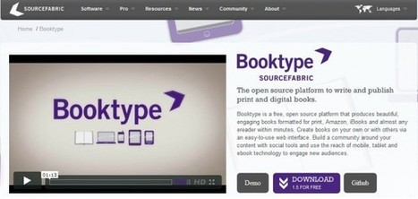 Booktype – Nueva herramienta opensource para la creación de libros electrónicos   WEBOLUTION!   Scoop.it