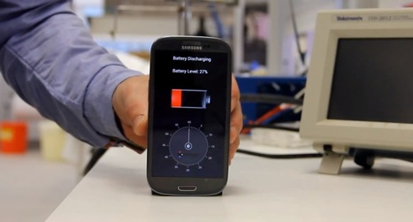 30 seconds and your smartphone is charged | Technology and Internet | Scoop.it