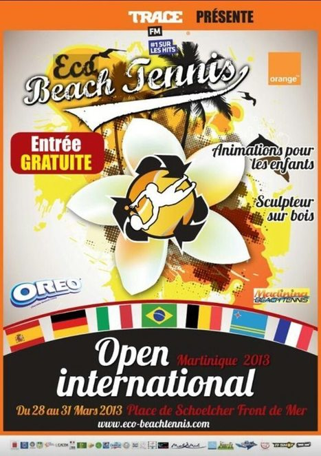 Open International Beach Tennis en Martinique   Voyage Martinique   Scoop.it