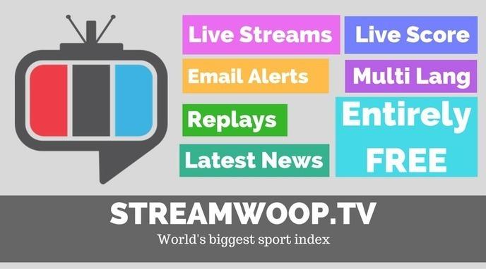Best Free streaming sports sites- StreamWoop.tv