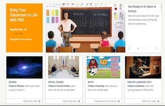 PBS LearningMedia-Educational Resources for Teachers ~ Educational Technology and Mobile Learning | Linking Literacy & Learning: Research, Reflection, and Practice | Scoop.it
