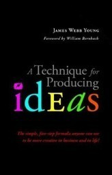 A 5-Step Technique for Producing Ideas circa 1939 | Cultivating Creativity | Scoop.it