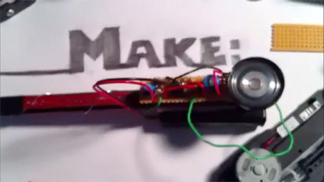 """Weekend Projects Hangouts On Air - """"Drawdio"""" Musical Pencil LIVE Today at 3:00pm PT/6:00pm ET 