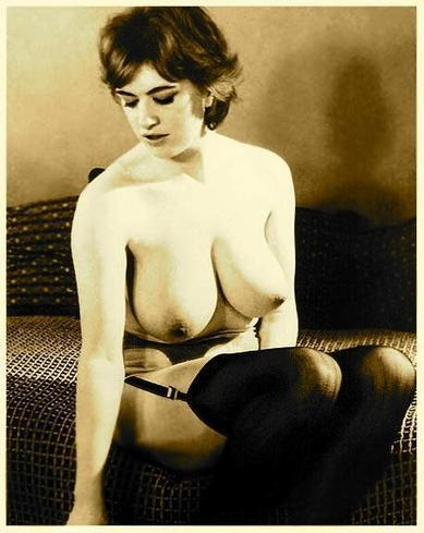Twitter / pink_erotica: 001430 #vintage #boobs #stockings ... | vintage nudes | Scoop.it