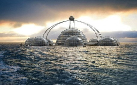 Self-Sufficient Sub-Biosphere Designed to House 100 People Under the Sea | sustainable architecture | Scoop.it