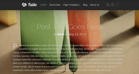 Fable Theme by Elegant Themes | CSS Poet | SEO Labs | Scoop.it