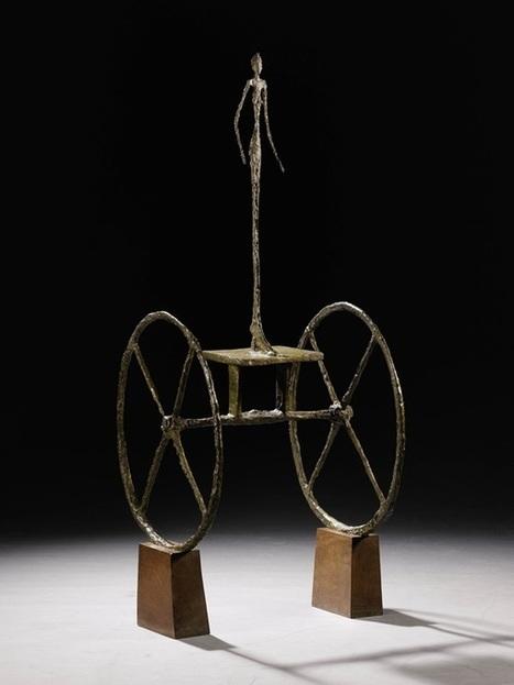 Giacometti Sculpture Could Break $100 Million at Sotheby's - artnet News   art   Scoop.it